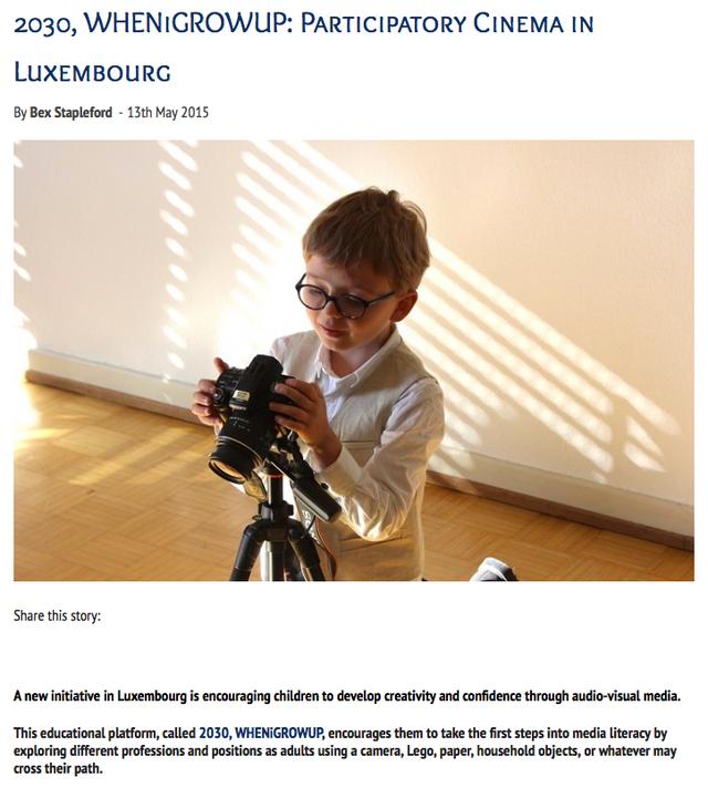 cinema luxembourg children